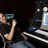 Tom Salta in the studio