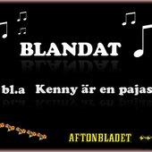 Blandat