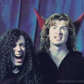Dave Mustaine & Marty Friedman (Megadeth)