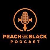 Peach & Black Podcast logo