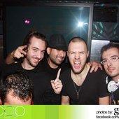 "Ecco lounge Hollywood, California with Luigi Rocca aka Marshall, Joey \""FLSHBCK\"" Avila and Chris Lake"