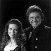 Johnny Cash with June Carter Cash