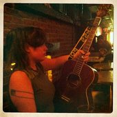 Just Another Folk Singer with one of her Daisy Rock Guitars
