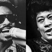 Ella Fitzgerald & Stevie Wonder