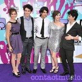 Demi Lovato, Joe Jonas, Nick Jonas & Alyson Stoner