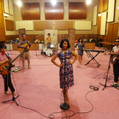 In studio, 2013