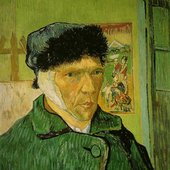Vincent Van Gogh (bandaged ear)