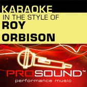 Crying (Karaoke Instrumental Track)[In the style of Roy Orbison]