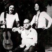Vinicius, Clara e Toquinho