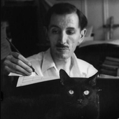 Hovhaness and cat