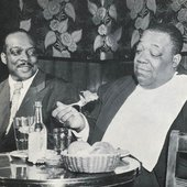 Jimmy Rushing with Count Basie (photo by Gary Wagner)