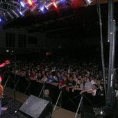 Opening up for Three Day's Grace in Winona, MN