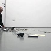"Rolf Julius, ""boiling"" performance, 13/5/10, blank, Torino"