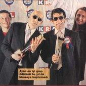 Ayna Grubu - Kral TV müzik ödülleri.