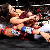 Sasha Banks VS Bayley