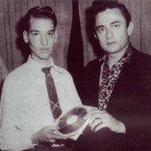 Peter Grudzien and Johnny Cash