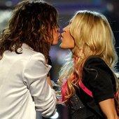 Carrie Underwood e Steven Tyler