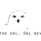 Trust the owl. Owl never lie.