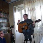 Влад Шаталов (квартирник с Александром Ивановым)