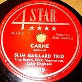Slim Gaillard Trio