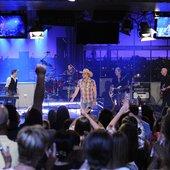 Live on Letterman - Jason Aldean ends webcast with a bang