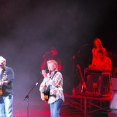 On stage with Toby Keith in Denver (08/21/09)