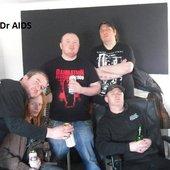 In the recording studio 28th March 2011