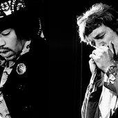 Jimi Hendrix & Jack Bruce