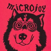 microjoy's red King kong(rip)dog t-shirt