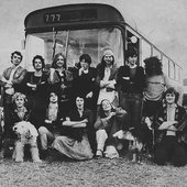 Alternative TV and Here and Now communing at Stonehenge, 1978