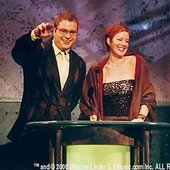 Steven Page of Barenaked Ladies with Sarah McLachlan