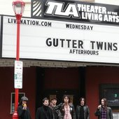 after USA with Gutter twins