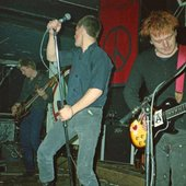 Early 1983 @ Liverpool Werehouse with Crass & Flux