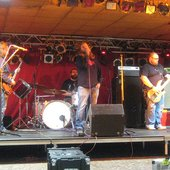 Brain Police sound check in Oct 2007 in Germany