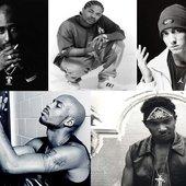 Eminem, DMX, Xzibit, Ja Rule, & 2Pac