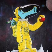 like i was sniffing paint laced, flyin up outer space