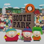 Stan, Sharon, Kenny, Kyle, Sheila, and Cartman