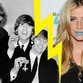 Ke$ha vs. The Beatles