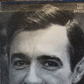 """From Mister Rogers' (knows that) \""""You Are Special\"""" LP -- back, detail"""