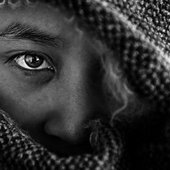 Chavatangakwunu's hided face