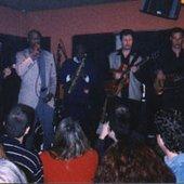 Tel Aviv, Israel, Mar. 1999 w/ Ronnie Peterson, Lenny Lynn, Ab Shalom and Michael Frost