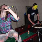 Annoying Ringtone + DDN vocalist Tim @ Ultrayonic, Glasgow Jan 2013