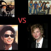 team9 vs beck vs acdc vs micheal jackson