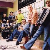 Леприконсы в Мэдисон клубе. Минск 2002. Фотограф Валик Гришко