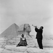 Louis Armstrong & some woman