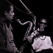 Eric Dolphy and Kenny Dorham during Andrew Hill's Point of Departure session, Englewood Cliffs NJ, March 21 1964 (photo by Francis Wolff)