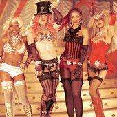 Christina Aguilera, Lil Kim, Missy Eliot, Mya, Pink