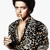 Bruno Mars for Rolling Stone Magazine [PNG]
