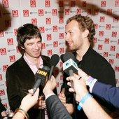 Chris Martin & Noel Gallagher
