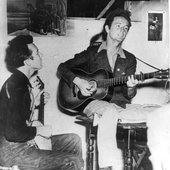 Woody and Pete Seeger